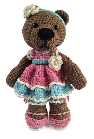 Bears Part 2 - Animal Crochet Pattern Round Up - Rebeckah ...
