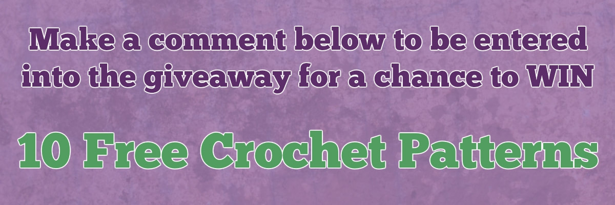 #GIVEAWAY - #Win 10 free #crochet patterns from @beckastreasures! Ends August 17, 2017 at 23:59 EST.