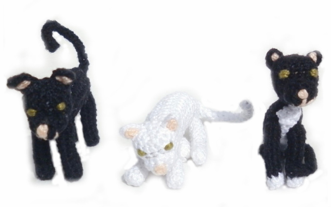 Rebeckah's Treasures: Barbie Amigurumi Cats