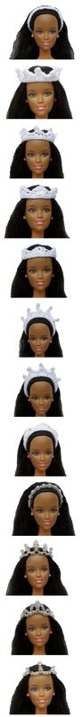 The Headpieces ~ Wedding Accessories for Fashion Dolls ~ Free Crochet Pattern & How-to via @beckastreasures