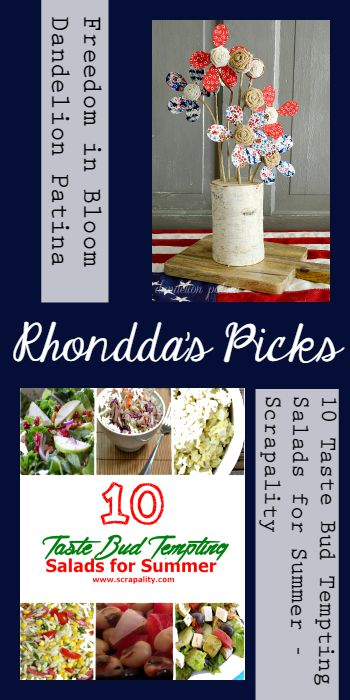 Rhondda's Picks | Tuesday PIN-spiration link party