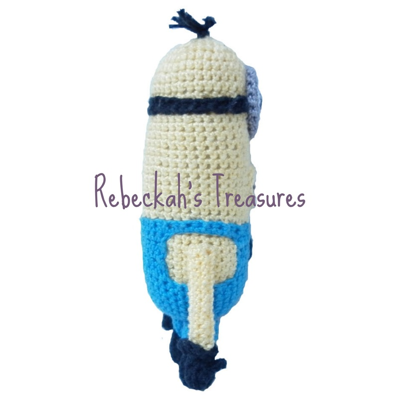 Crochet Mini Minion Army by Rebeckah's Treasures ~ Tallest Minion