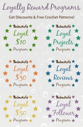 New Loyalty Program for Rebeckah's Treasures! Learn more here: http://www.rebeckahstreasures.com/loyalty-program.html