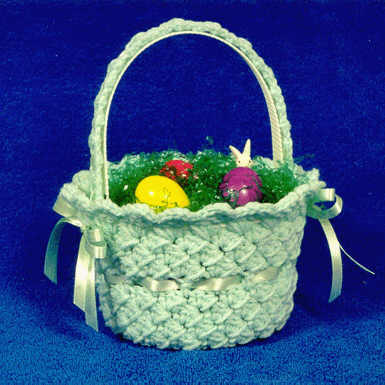 Free Pattern Crochet Easter Basket : Easter Baskets Crochet Round Up - Rebeckahs Treasures