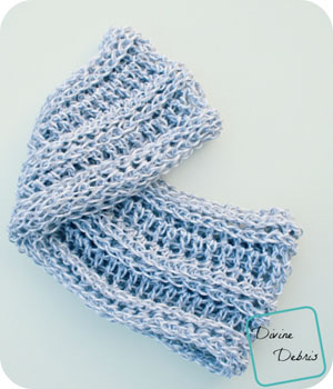 Abby's Scarf by Amber of Devine Debris - Featured on @beckastreasures Saturday Link Party!