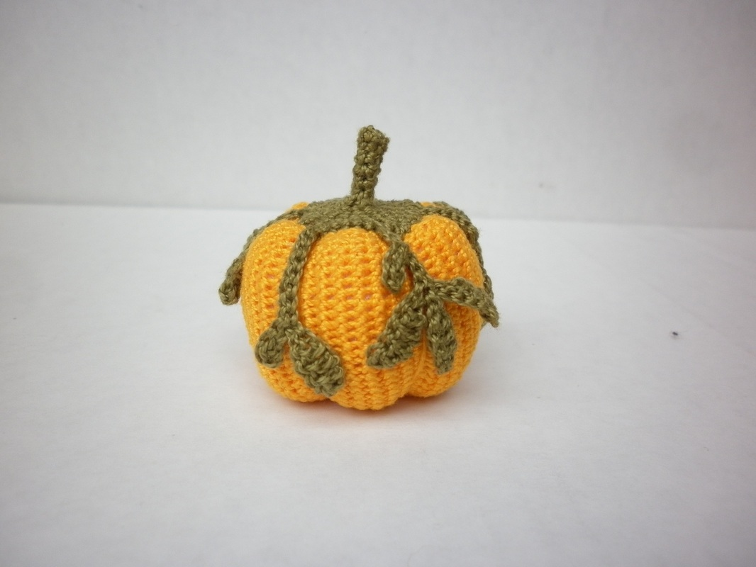 #2 Wee Giant Crochet Pumpkin