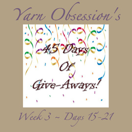 45 Days of Give-aways Week 3
