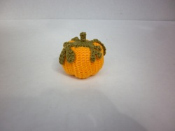 #4 Plump Mini Amigurumi Pumpkin
