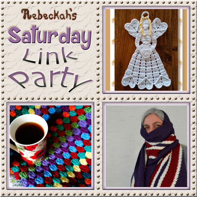 Share what you're making, increase your reach and have some fun with Rebeckah's 34th Saturday Link Party with @beckastreasures