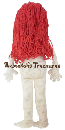 Crochet Amigurumi Dolly by Rebeckah's Treasures