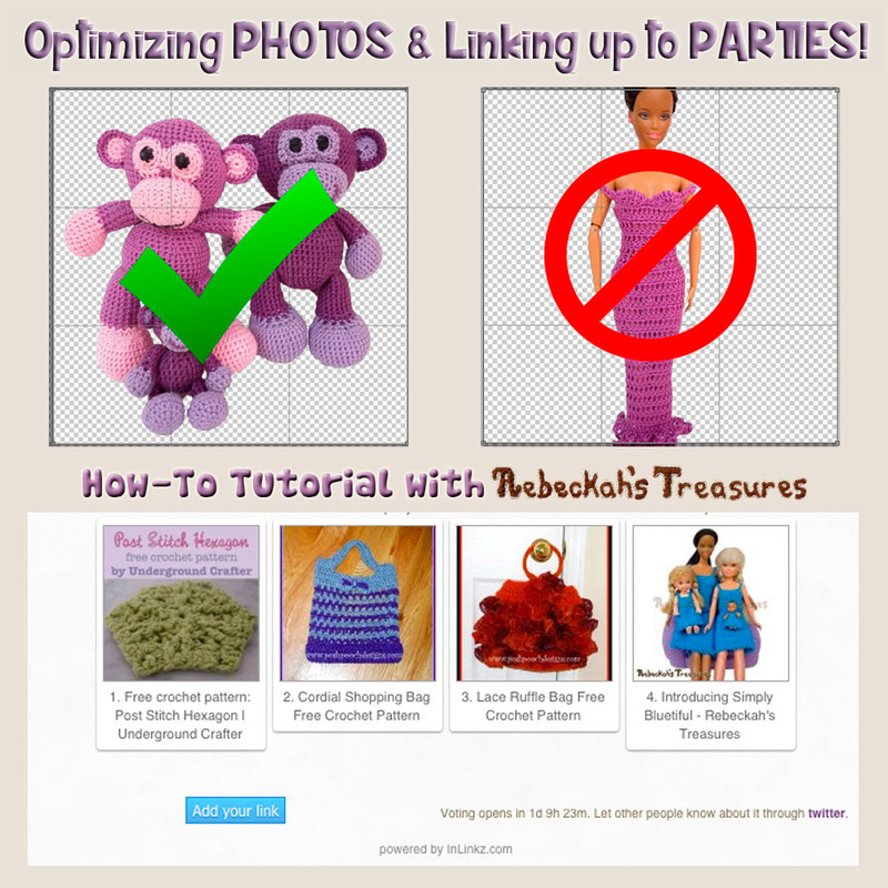 Optimizing Photos & Linking Up to Parties / How-To Tutorial with @beckastreasures