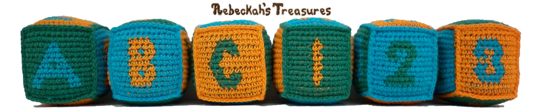 Free Tapestry Crochet ABC Blocks Pattern by Rebeckah's Treasures