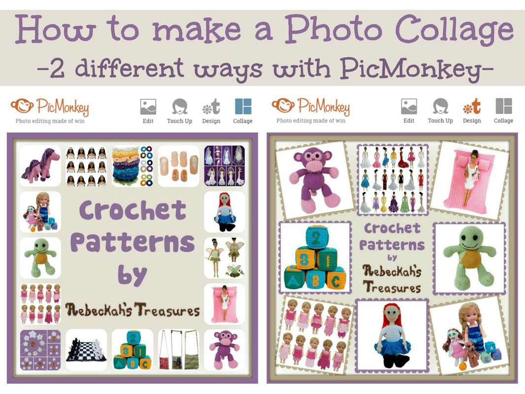 How to make a photo collage 2 ways with PicMonkey via @beckastreasures