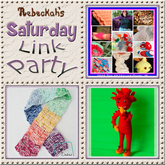 Share what you're making, increase your reach and have some fun with Rebeckah's 29th Saturday Link Party with @beckastreasures