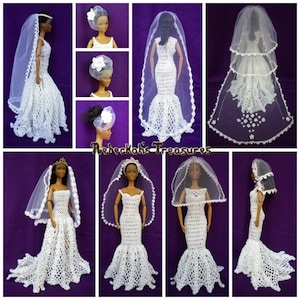 Fashion Doll Wedding Veils | 10 MOST Viewed Posts of ALL TIME - 2016 Edition by @beckastreasures