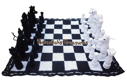 Crochet Chess Set