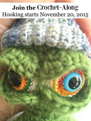 Holiday Monster Crochet-Along by Knot by Gran'ma - Featured on @beckastreasures Saturday Link Party!