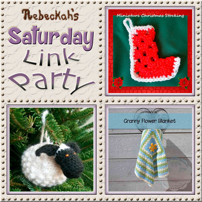 Share what you're making, increase your reach and have some fun with Rebeckah's 25th Saturday Link Party with @beckastreasures