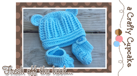 Little Blue Bear by A Crafty Cupcake - Featured on @beckastreasures Saturday Link Party!