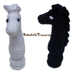Crochet Chess Pieces Knight