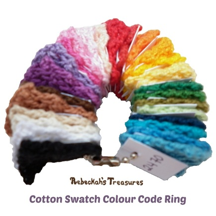 Cotton Swatch Colour Code Ring