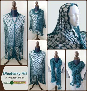 #3 - Blueberry Hill by Pia of Stitches 'N' Scraps | Featured on @beckastreasures Saturday Link Party!