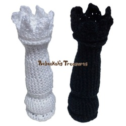Crochet Chess Pieces Castle Rook