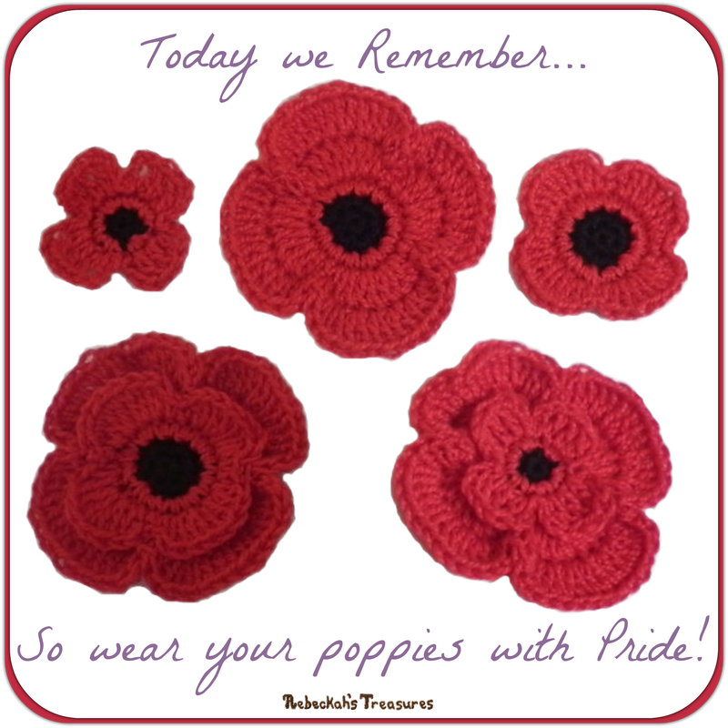 Today we Remember... So wear your poppies with Pride!