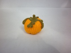 #4 Plump Mini Crochet Pumpkin