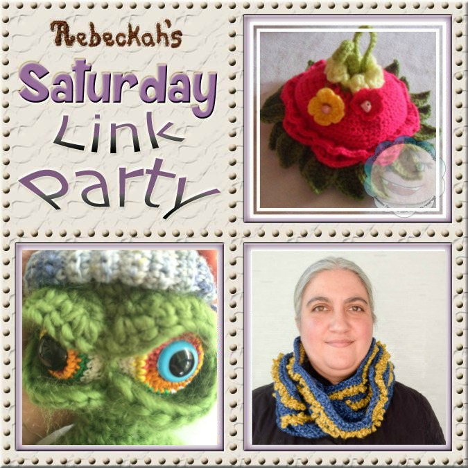 Share what you're making, increase your reach and have some fun with Rebeckah's 21st Saturday Link Party with @beckastreasures