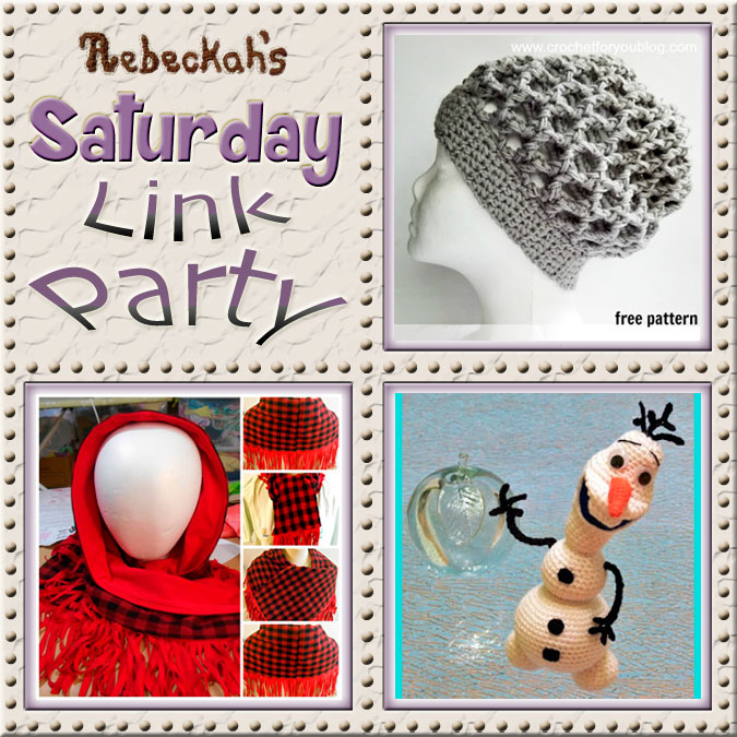 Share what you're making, increase your reach and have some fun with Rebeckah's 27th Saturday Link Party with @beckastreasures