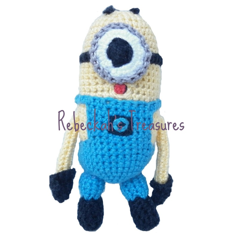 Crochet Mini Minion Army by Rebeckah's Treasures ~ Smallest Minion