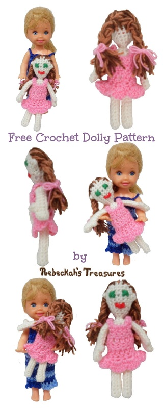 Crochet a Barbie Dolly for Kelly