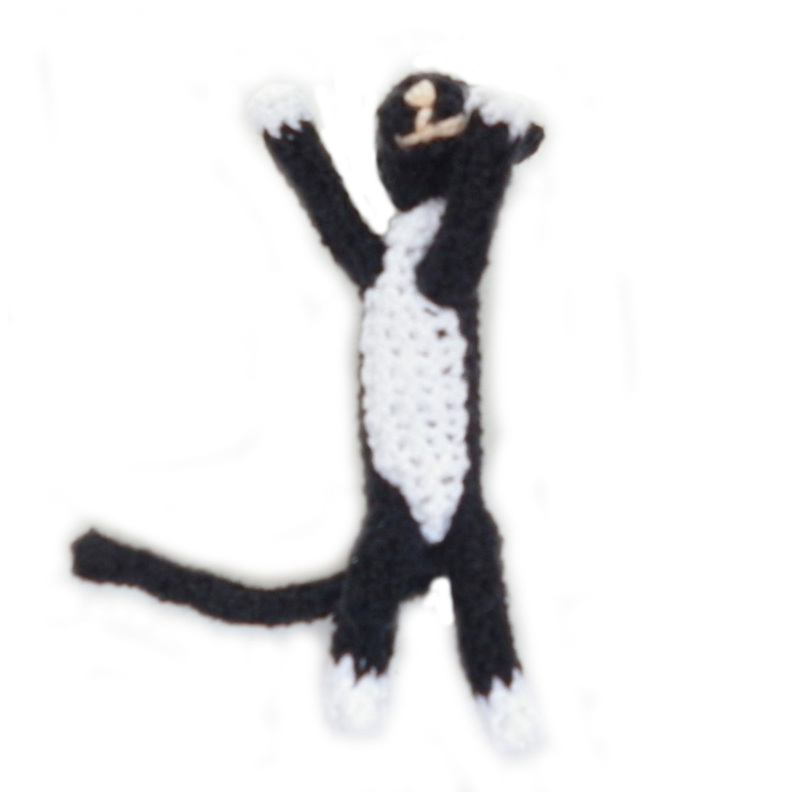 Rebeckah's Treasures: Boris Crochet Barbie Kitty Belly Shot