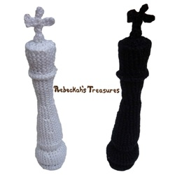 Crochet Chess Pieces King