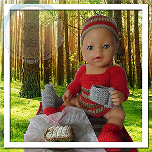 Baby Doll Picnic Theme Set - Free Crochet Pattern by @CCWJoanita | Featured at Creative Crochet Workshop - Sponsor Spotlight Round Up via @beckastreasures | #fallintochristmas2016 #crochetcontest #spotlight #crochet #roundup