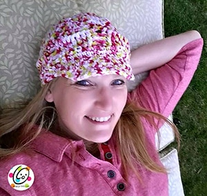 Boho Beanie | Featured at Tuesday Treasures #27 via @beckastreasures with @SnappyTots | #crochet