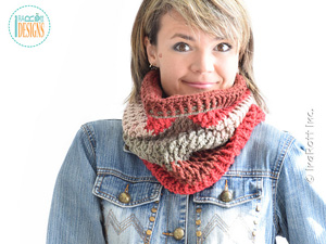 Cake Craze Chunky Cowl | Featured on @beckastreasures Tuesday Treasures #11 with @IraRott!
