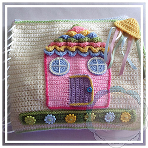 My Dollhouse Playbook - Crochet Pattern by @CCWJoanita | Featured at Creative Crochet Workshop - Sponsor Spotlight Round Up via @beckastreasures | #fallintochristmas2016 #crochetcontest #spotlight #crochet #roundup