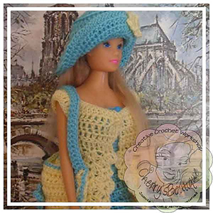 Barbie Doll Lacy Summer Dress - Free Crochet Pattern by @CCWJoanita | Featured at Creative Crochet Workshop - Sponsor Spotlight Round Up via @beckastreasures | #fallintochristmas2016 #crochetcontest #spotlight #crochet #roundup