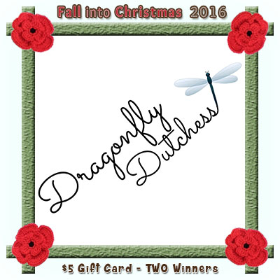 Dragonfly Dutchess is a prize sponsor in this year's Fall into Christmas #crochet #contest hosted by @beckastreasures with #dragonflydutchess! | SUBMISSIONS close December 4th, 2016 | VOTING begins December 5th, 2016 | What are you waiting for? Submit your 3 favourite projects TODAY and #WIN!!! | Learn more here: https://goo.gl/zYdFsN #fallintochristmas2016