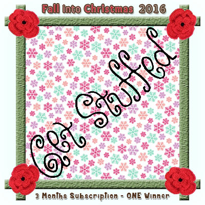 Get Stuffed Magazine is a prize sponsor in this year's Fall into Christmas #crochet #contest hosted by @beckastreasures with #getstuffedmag! | SUBMISSIONS close December 4th, 2016 | VOTING begins December 5th, 2016 | What are you waiting for? Submit your 3 favourite projects TODAY and #WIN!!! | Learn more here: https://goo.gl/zYdFsN #fallintochristmas2016