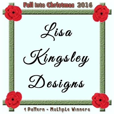 Lisa Kingsley Designs is a prize sponsor in this year's Fall into Christmas #crochet #contest hosted by @beckastreasures with @lisakingsley4! | SUBMISSIONS close December 4th, 2016 | VOTING begins December 5th, 2016 | What are you waiting for? Submit your 3 favourite projects TODAY and #WIN!!! | Learn more here: https://goo.gl/zYdFsN #fallintochristmas2016