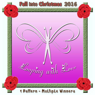Looping with Love is a prize sponsor in this year's Fall into Christmas #crochet #contest hosted by @beckastreasures with @LoopingWithLove! | SUBMISSIONS close December 4th, 2016 | VOTING begins December 5th, 2016 | What are you waiting for? Submit your 3 favourite projects TODAY and #WIN!!! | Learn more here: https://goo.gl/zYdFsN #fallintochristmas2016