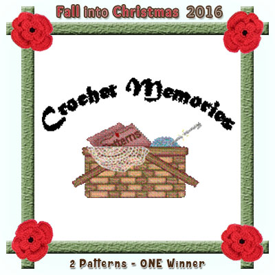 Crochet Memories is a prize sponsor in this year's Fall into Christmas #crochet #contest hosted by @beckastreasures with @crochetmemories! | SUBMISSIONS close December 4th, 2016 | VOTING begins December 5th, 2016 | What are you waiting for? Submit your 3 favourite projects TODAY and #WIN!!! | Learn more here: https://goo.gl/zYdFsN #fallintochristmas2016