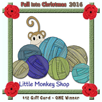 Little Monkeys Design is a prize sponsor in this year's Fall into Christmas #crochet #contest hosted by @beckastreasures with @LtMonkeyShop! | SUBMISSIONS close December 4th, 2016 | VOTING begins December 5th, 2016 | What are you waiting for? Submit your 3 favourite projects TODAY and #WIN!!! | Learn more here: https://goo.gl/zYdFsN #fallintochristmas2016