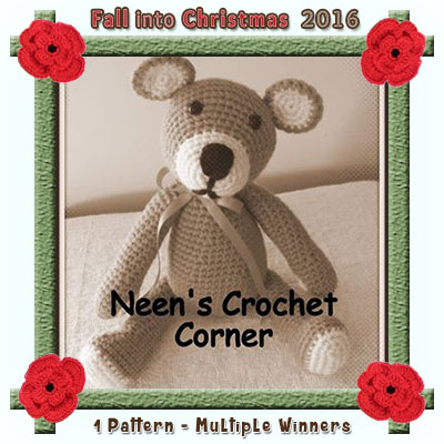 Neen's Crochet Corner is a prize sponsor in this year's Fall into Christmas #crochet #contest hosted by @beckastreasures with #neenscrochetcorner! | SUBMISSIONS close December 4th, 2016 | VOTING begins December 5th, 2016 | What are you waiting for? Submit your 3 favourite projects TODAY and #WIN!!! | Learn more here: https://goo.gl/zYdFsN #fallintochristmas2016