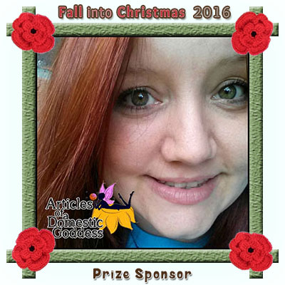 Articles of a Domestic Goddess is a prize sponsor in this year's Fall into Christmas #crochet #contest hosted by @beckastreasures with @ArtofaDG! | SUBMISSIONS close December 4th, 2016 | VOTING begins December 5th, 2016 | What are you waiting for? Submit your 3 favourite projects TODAY and #WIN!!! | Learn more here: https://goo.gl/zYdFsN #fallintochristmas2016