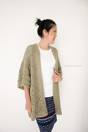 Summer Diamonds Kimono Cardigan | Featured on @beckastreasures Tuesday Treasures #2 with @1dogwoof!