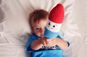 Firecracker Popsicle | Friday Feature #2 via @beckastreasures with Screen to Stitch #crochet